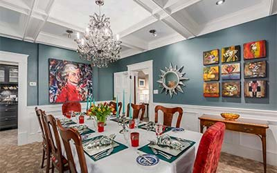 Be our guest dining rooms