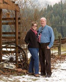 Jim & Ruth May at Reflections Inn, North Central Idaho