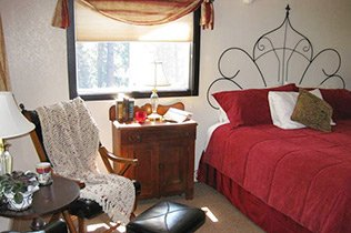 Guest Rooms at Reflections Inn in Kooskia, Idaho