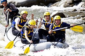 Rafting in Northern Idaho