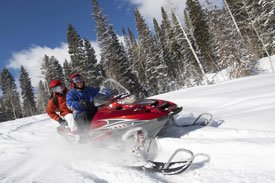 Snowmobiling in Northern Idaho at Reflections Inn
