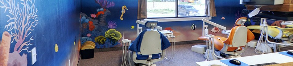 Dental Chairs at Salem Smiles Dental Office