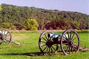 Wilson's Creek Nation Battlefield near Walnut Street Inn in Springfield, Missouri Photo by National Park Service (http://www.nps.gov/wicr/index.htm)