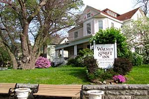 Main House at Walnut Street Inn in Springfield, Missouri