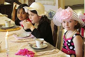 Tea Party at Walnut Street Inn in Springfield, Missouri