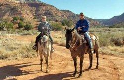 Horseback Riding in Kanab, Utah