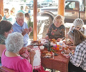 Group Fun at Trappers Rendezvous in Williams, Arizona