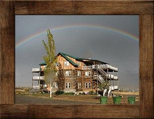 Rainbow at Syringa Lodge