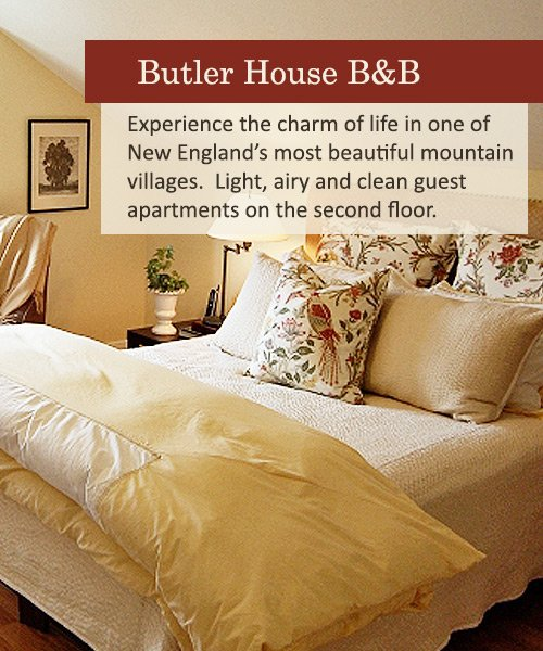 Butler House Bed and Breakfast in Stowe, Vermont