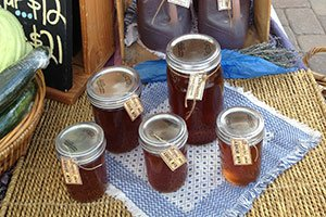 honey at White Lake Farms