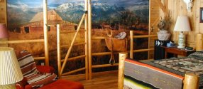Teton Room: Cody Wyoming Guest Ranch Lodging
