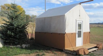 Cody WY Lodging: Sheepherder's Tent