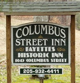 Columbus Street Inn Sign