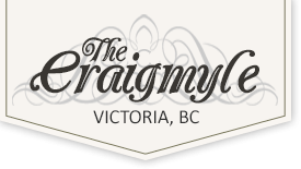 Logo - The Craigmyle in Victoria, British Columbia, Canada
