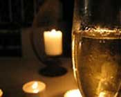 Champagne at Hemingway House in St. Augustine, FL