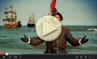 El Conquistador Returns to St Augustine video Hemingway House