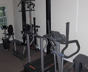 Fitness Room at the Mason North in Butler, Alabama