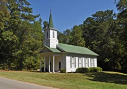 Bladon Springs Church at Bladon Springs, AL