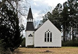 Pushmataha Methodist Church at Pushmataha, AL