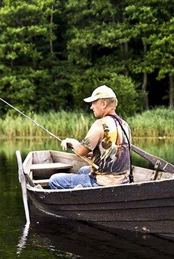 Fishing in Kansas