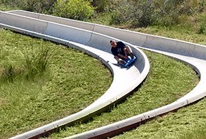 Alpine Slide - Photo by Charles Willgren