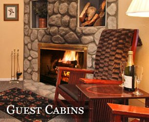 Guest Cabins at Pine Knot Guest Ranch in Big Bear, California