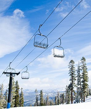 Skiing in the San Bernardino Mountains