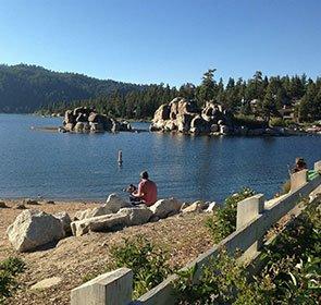 Swimming in Boulder Bay Park California