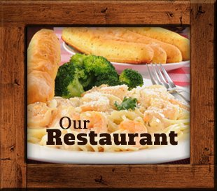 Restaurant at Kit Carson Lodge in Kit Carson, California