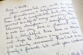 Testimonial for PineCrest Inn in Gorham, Maine