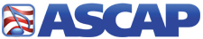 ASCAP logo - THE AMERICAN SOCIETY OF COMPOSERS, AUTHORS AND PUBLISHERS
