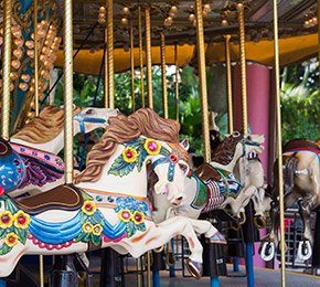 Lake Arrowhead Village Carousel Ride