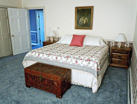 Crescent Lake Room at Lake View Inn in Wolfeboro, NH