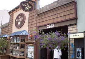 Sow's Ear restaurant near White Water Inn in Cambria, CA