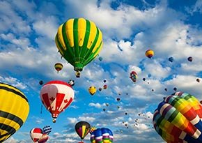 Penguitch Valley Balloon Rally near Canyon Lodge Motel in Panguitch, UT