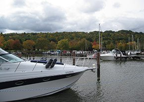 Allan H. Treman State Marine Park near City Lights Inn in Ithaca, New York