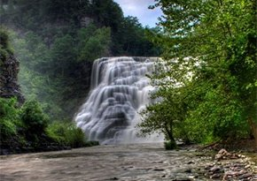 Ithaca Falls Natural Area near City Lights Inn in Ithaca, New York Photo by Clarence Baillo