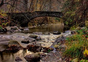 Robert H. Treman State Park near City Lights Inn in Ithaca, New York Photo by Clarence Baillo