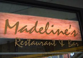 Madeline's Restaurant near City Lights Inn in Ithaca, New York Photo by Dmadeo