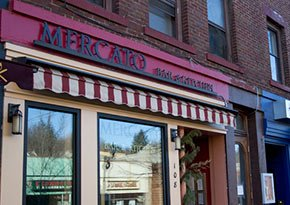 Mercato Bar and Kitchen near City Lights Inn in Ithaca, New York