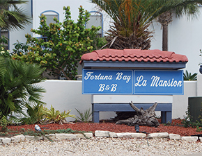 Fortuna bay sign out front