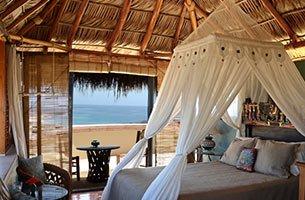 Bali Room at Villa del Faro in San Jose del Cabo, B C S, Mexico