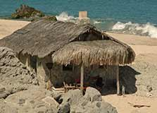 Stone Beach Cottage at Villa del Faro in Mexico