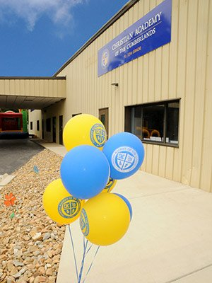 Balloons at Christian Academy of the Cumberlands