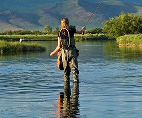 Fishing in Sun Valley Idaho