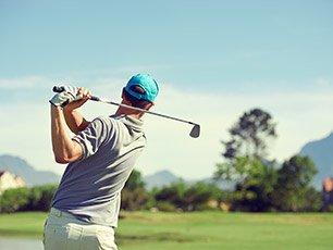 Golfing near Snowberry Inn in Eden, UT