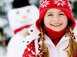 Snow play near Snowberry Inn in Eden, UT