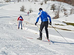 Cross Country Skiing in Estes Park by Colorado Cottages
