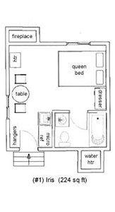 Iris Cottage Layout
