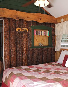 Chickadee Cottage Bedroom